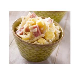 Salade de trio de choux